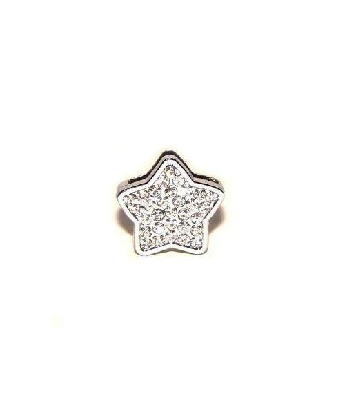 Bijou en forme d'étoile clair strass pour cadeau original chien chat accessoires colliers strass animaux de compagnie