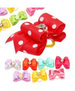 barrette with elastic for a dog with rhinestones not expensive delivery switzerland, martinique, guadeloupe, dom-tom