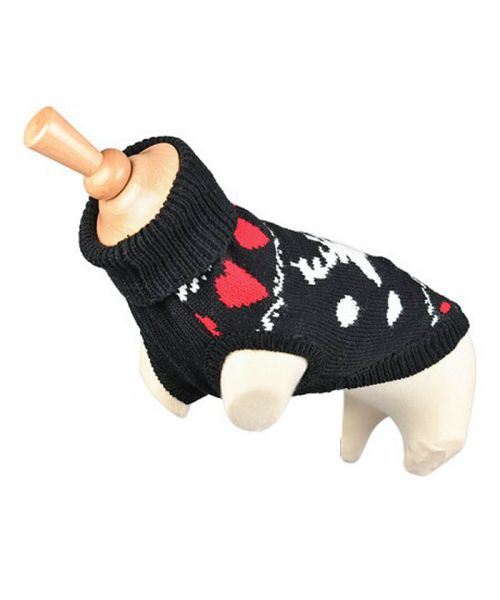 sweater for small dog christmas reindeer fast delivery Dom-Tom, Switzerland, Belgium, Canada, Guadeloupe