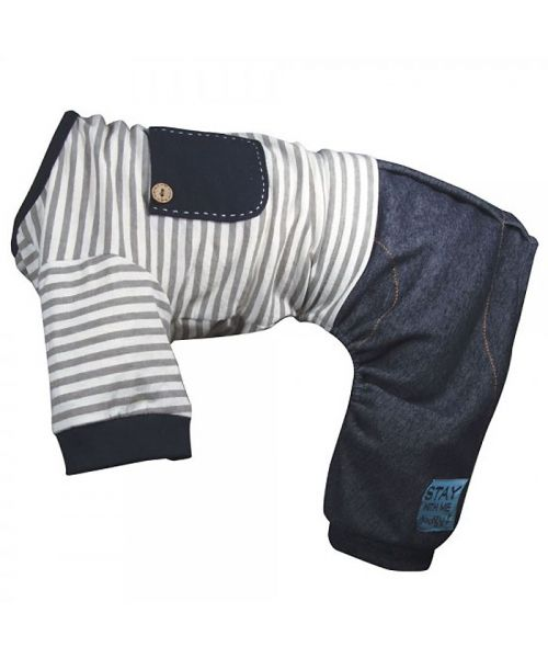 navy jumpsuit for dog chic free delivery dom tom guadeloupe mayotte belgique switzerland