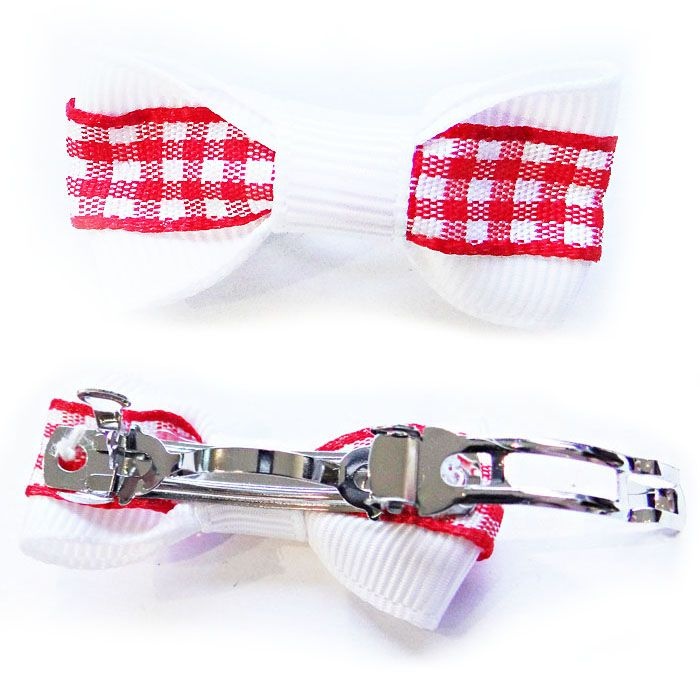red and white French-style dog knot delivery dom tom switzerland belgium