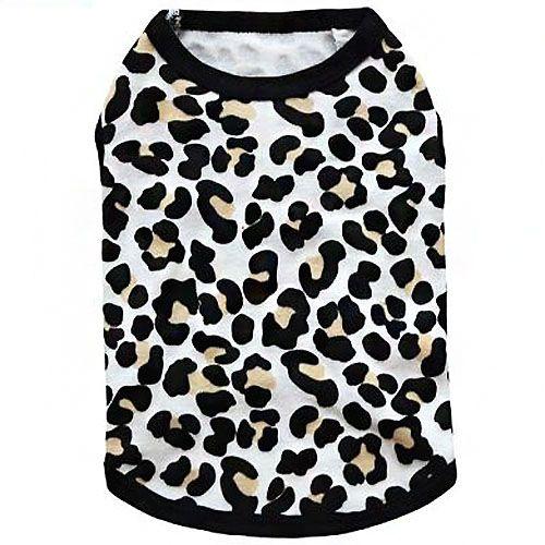 t-shirt pour chien leopard mignon pas cher en vente en ligne livraison rapide guyane martinique guadeloupe dom tom