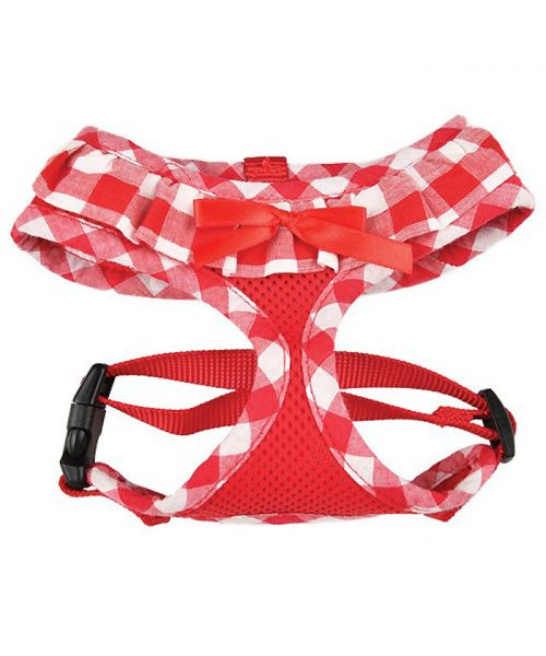 Harness for dog harness stars Red
