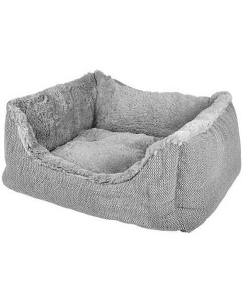 Basket for dog Sofa with polka dots