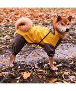 imperméable pour grand chien avec pattes avec capuche pas cher livraison Belgique dom tom suisse canada gratuite