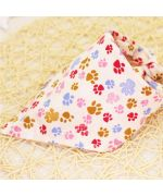 bandana with small paws for cute dog free shipping cheap for pets