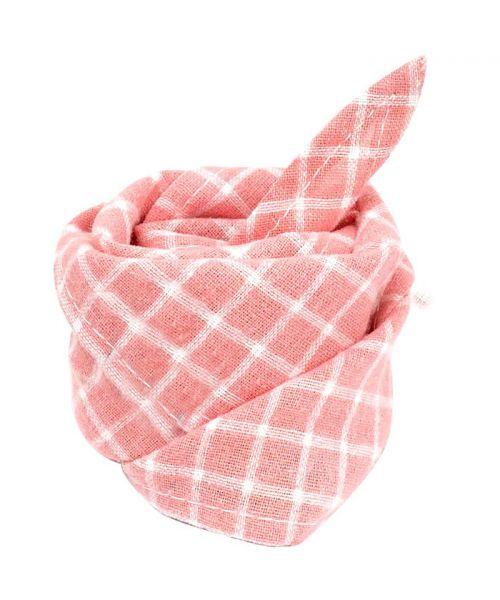 bandana pour chien femelle rose à carreaux pas cher livraison suisse belgique france dom tom