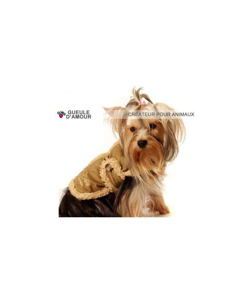manteau pour chien yorkshire pas cher