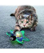 flashing light cat ball