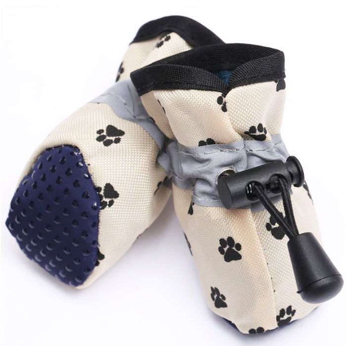 dog shoe against hot floors