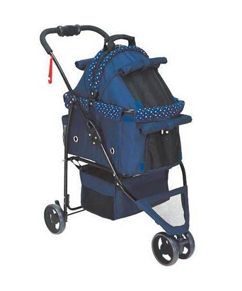 poussette et sac de transport pour chien