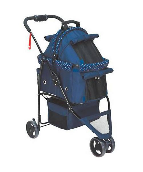 stroller and transport bag for dog
