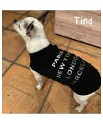 Black tank top for chihuahua