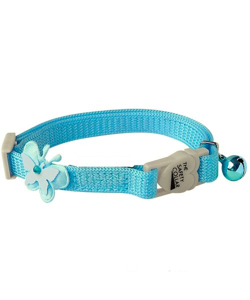 Collar for cat blue