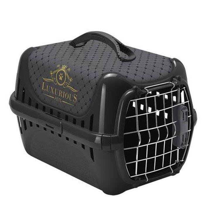 Caisse de transport pour chat Luxe