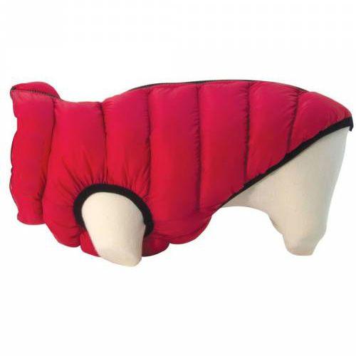 reversible dog down jacket
