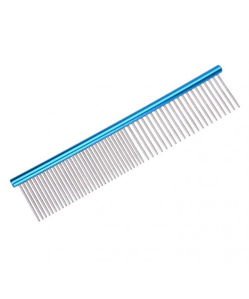 comb metal for dogs and cats with long hair for demeler node