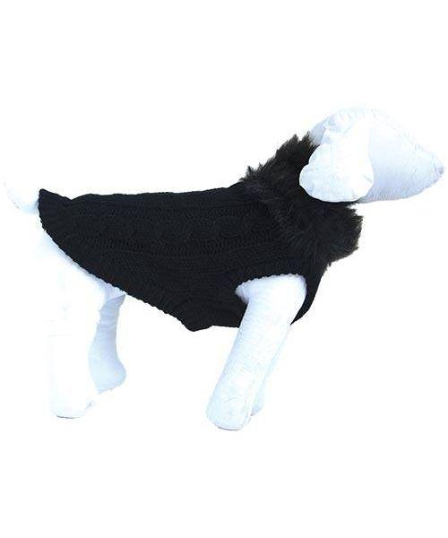 pull pour chien chic noir