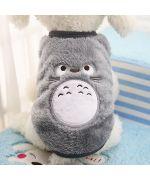 sweater plush soft grey dog