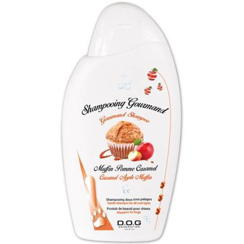 shamppoing pour chien gourmand pomme caramel