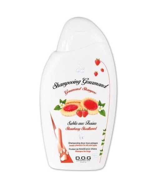 shampooing-pour chien-a-la-fraise