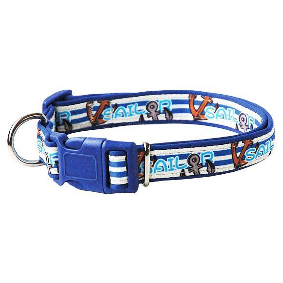 collier pour chien marin