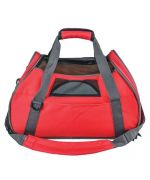 Bag of transport for dog and cat with shoulder strap - Red