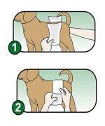 couche pour petit chien lavables
