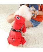 manteau à pattes pour chien imperméable
