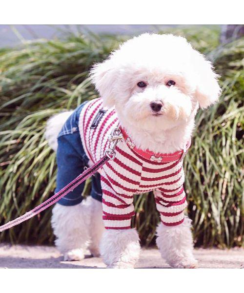 navy dog jumpsuit