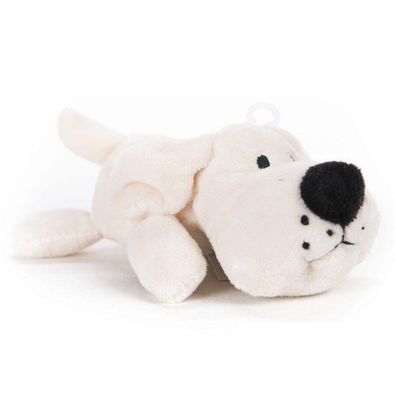 petite peluche pour chien avec pouic pouic