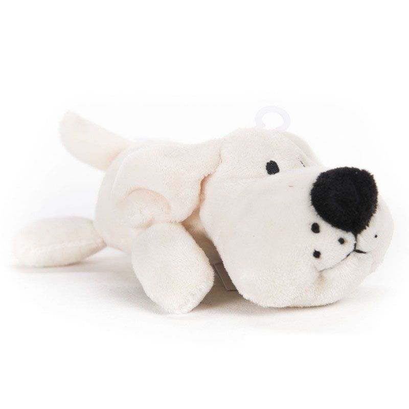 small soft toy for dog with pouic pouic