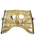 manteau pour chien gold avec harnais intégré