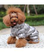 doudoune pour petit chien chaude à pattes