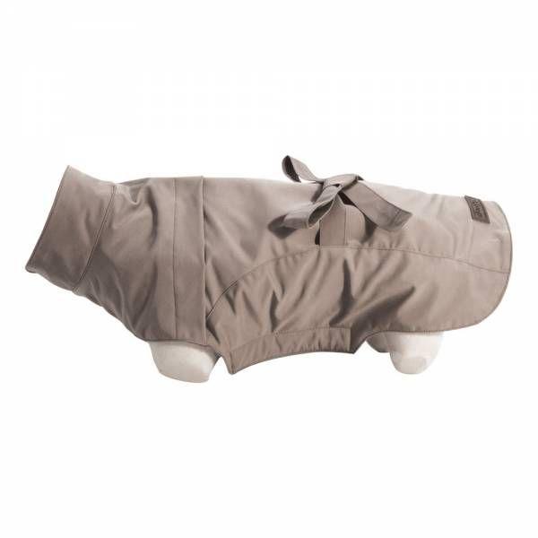 waterproof beige dog trench coat