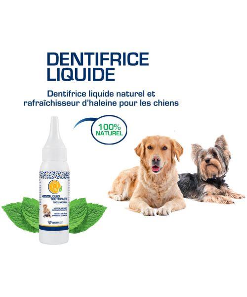 Dentifrice pour chien 100% naturel