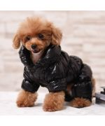 warm stuffed jumpsuit for small dogs