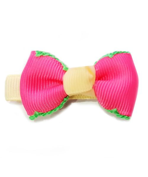 hair clip for dog pink