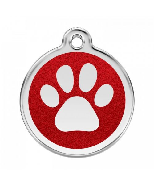 medallion for small dog with sequins cheap free shipping to guadeloupe, martinique, st bart meeting