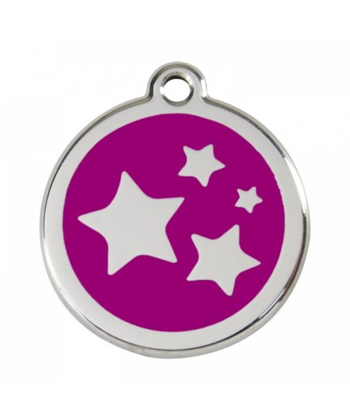 medal for dog and cat red
