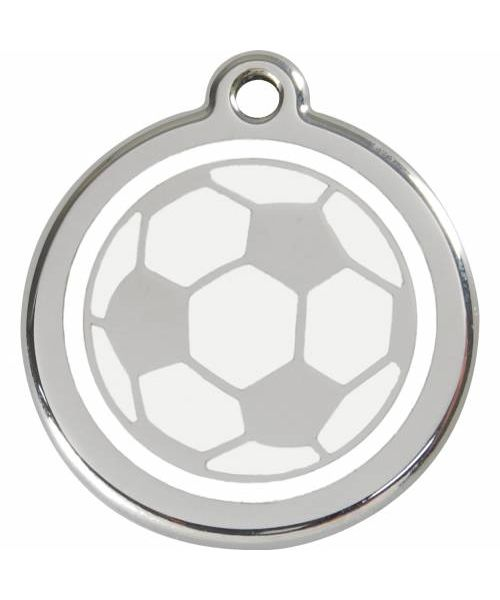 medal with soccer ball for dog and cat