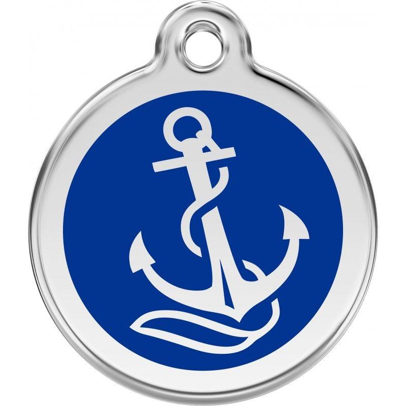 médaille-pour-chien-chat-ancre-marine-livraison-gratuite-boutique-gueule-damour