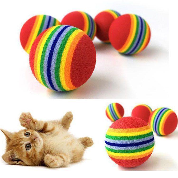 balle pour chaton
