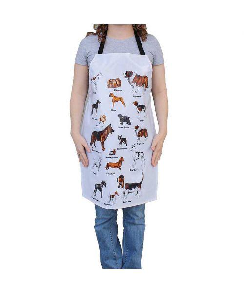 apron grooming dog