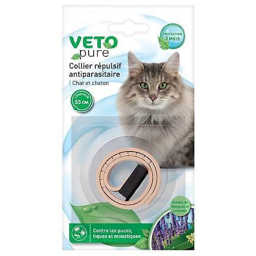 collier repulsif pour chat et chaton