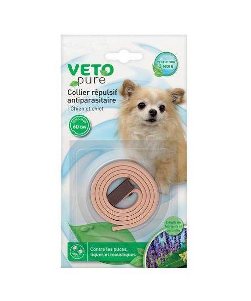 collier antiparasitaire pour chien