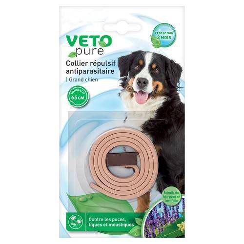 collier antipuces pour grand chien