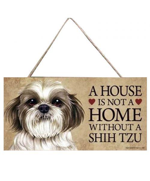 Plaque décoration - Shitzu
