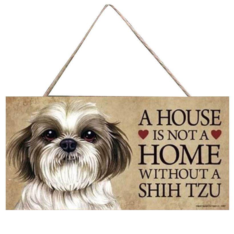 Plate decoration - Shitzu