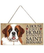 plaque saint bernard
